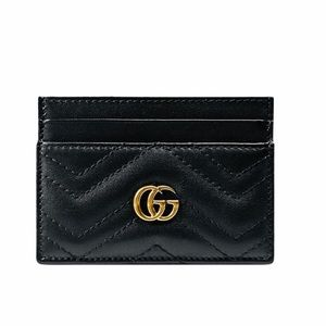 🔥GUCCI GG MARMONT CARD CASE